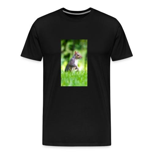 Squirrels don't play games - Men's Premium T-Shirt