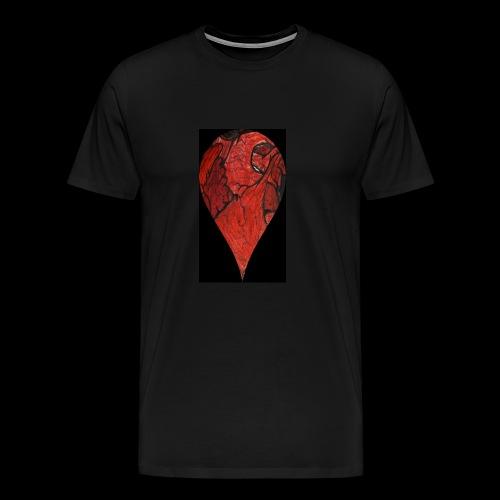Heart Drop - Men's Premium T-Shirt