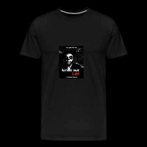 Nightmare House Lore Dr. Voodoo Poster - Men's Premium T-Shirt