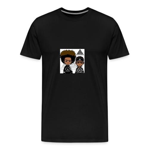 REVERSE TWINS - Men's Premium T-Shirt