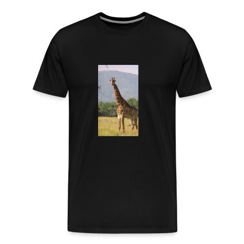Girrafe - Men's Premium T-Shirt
