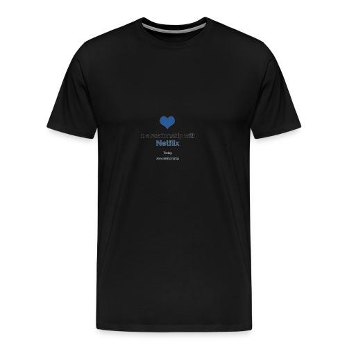 Netflix love - Men's Premium T-Shirt