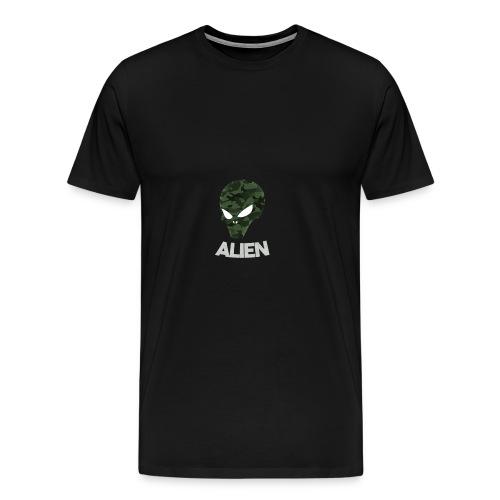 Military Alien - Men's Premium T-Shirt