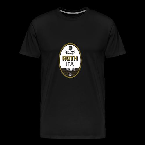 ROTH IPA - Dadbod Brewing Co - Men's Premium T-Shirt