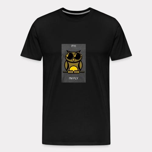 Fly Owl - Men's Premium T-Shirt