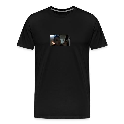 TRIPPIE J face tee-shirt - Men's Premium T-Shirt
