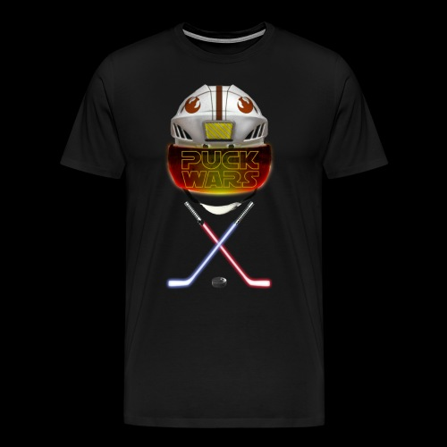 Puck Wars - Rebel - Men's Premium T-Shirt