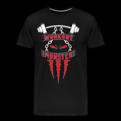 Workout Monster - Men's Premium T-Shirt