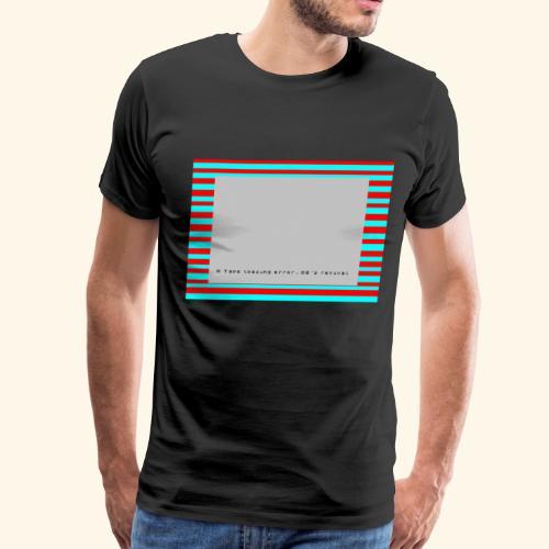 Retro Gaming Tape Loading Error 80s retro revival - Men's Premium T-Shirt