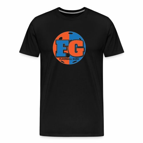 Floorball Guru Logo - Men's Premium T-Shirt