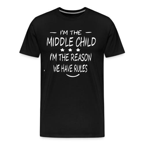 middle child - Men's Premium T-Shirt
