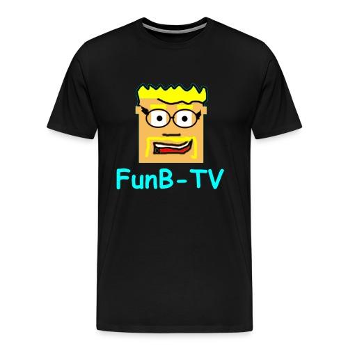 FunB-TV Guy - Men's Premium T-Shirt