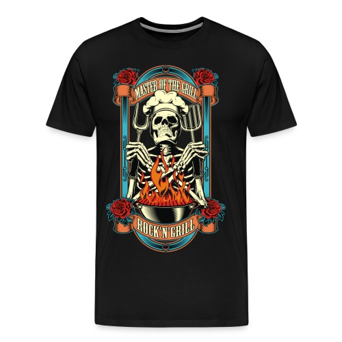Grill master - Men's Premium T-Shirt