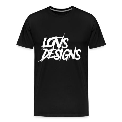 LOTVS DESIGNS - White - Men's Premium T-Shirt