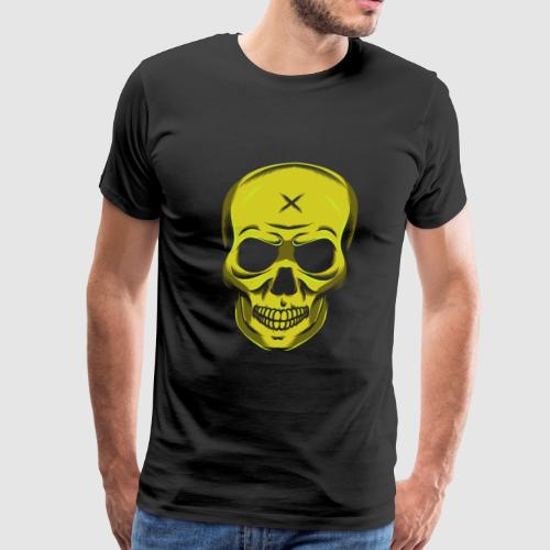 Evil Halloween Skull Skull Cross Gift - Men's Premium T-Shirt