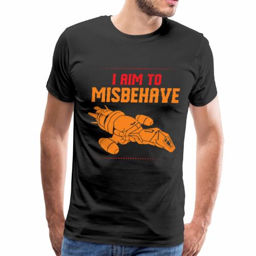 Mission to Misbehave Firefly Spaceship Amazing - Men's Premium T-Shirt