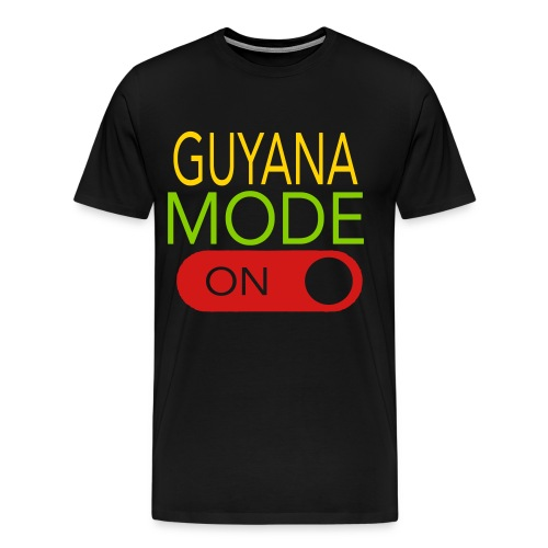 GUYANA MODE ON - Men's Premium T-Shirt