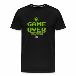 Game over shirt clear - Men's Premium T-Shirt