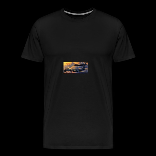Boeing B29 - Men's Premium T-Shirt