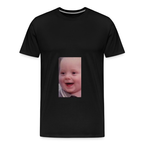 LITTLE BOI SMILING🙂 - Men's Premium T-Shirt
