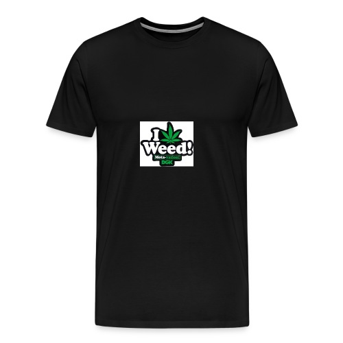 DGK love weed - Men's Premium T-Shirt