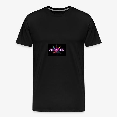 addicted - Men's Premium T-Shirt