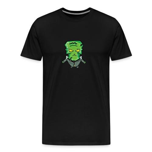 Frankenstein Halloween print - Men's Premium T-Shirt