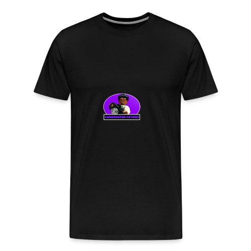 Parkermation Pictures Sigfig/Logo v2 - Men's Premium T-Shirt