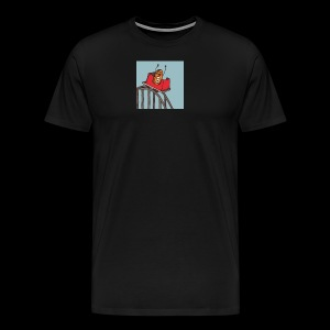 Bitcoin Roller Coaster - Men's Premium T-Shirt
