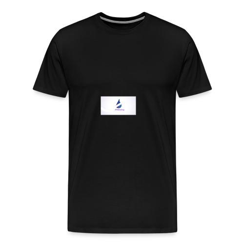 i8 Raindrop - Men's Premium T-Shirt