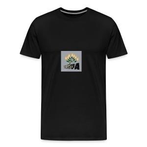 LOVING YESHUA MY SAVOIR - Men's Premium T-Shirt