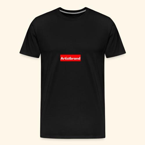 Artist Brand box logo - Men's Premium T-Shirt