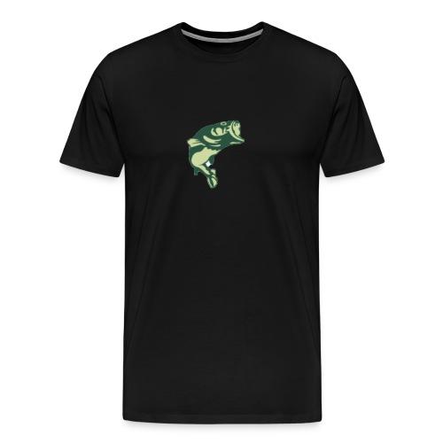 bass fishing rodbenders tee - Men's Premium T-Shirt