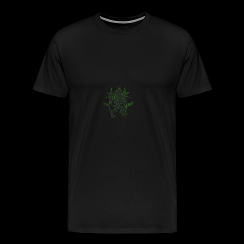The AfrLoy logo - Men's Premium T-Shirt