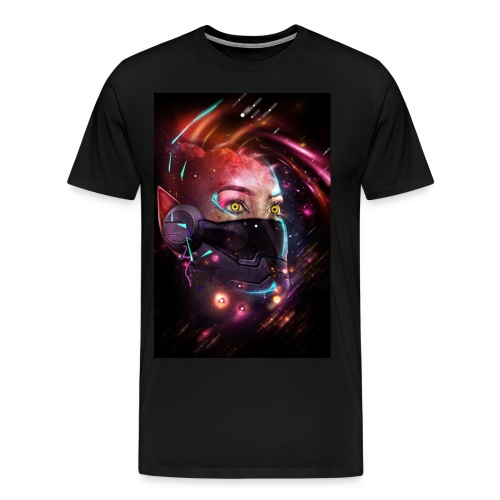I see lights - Men's Premium T-Shirt