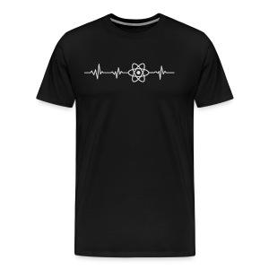 Heart beat - javascript - Men's Premium T-Shirt