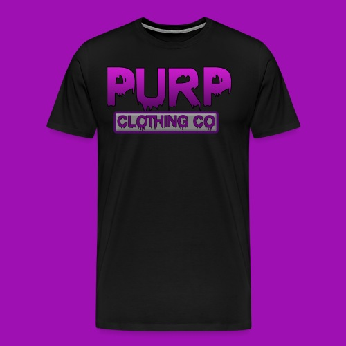 Purp Clothing Logo - Men's Premium T-Shirt