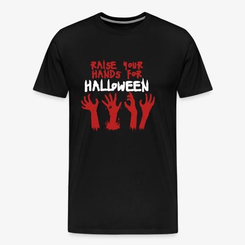 Raise Your Hands For Halloween - Men's Premium T-Shirt