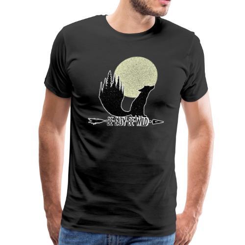 Be Wild Be Fox - Men's Premium T-Shirt