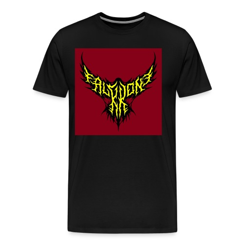FalKKonE logo (with BG) - Men's Premium T-Shirt