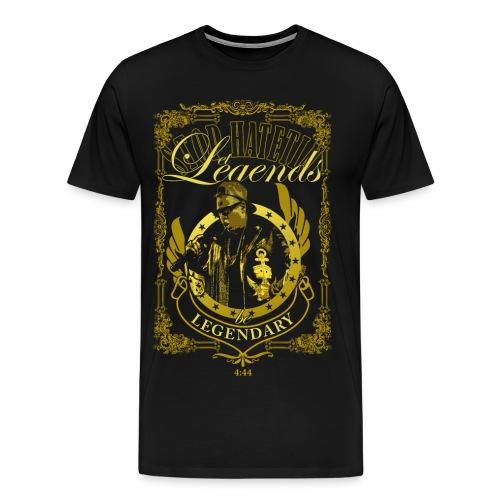 let legends be legendary - Men's Premium T-Shirt