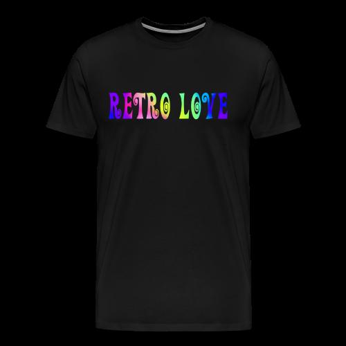 RETRO LOVE - Men's Premium T-Shirt