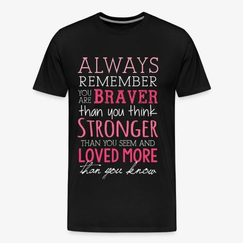 Always Remember - Men's Premium T-Shirt