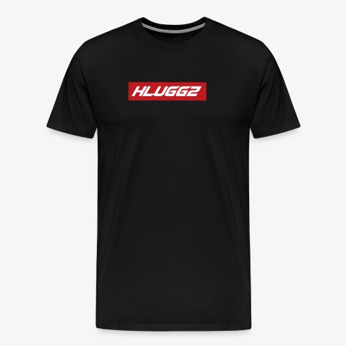 RED KLUGGZ BOX LOGO - Men's Premium T-Shirt