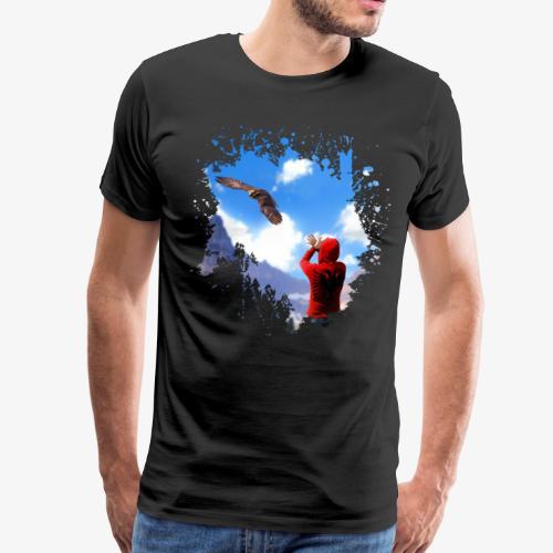 Albanian Eagle - Men's Premium T-Shirt
