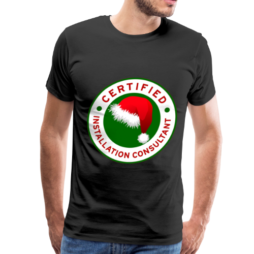 Christmas Lights R Us Emblem - Men's Premium T-Shirt