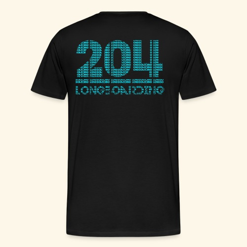 Letter-Ception - Men's Premium T-Shirt