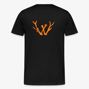 orange vectorized - Men's Premium T-Shirt
