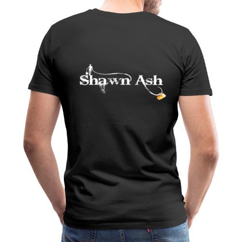 Shawn Ash No Background Logo - Men's Premium T-Shirt