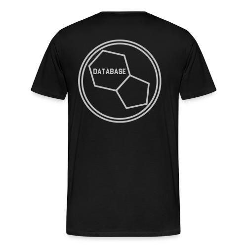 DATABASE [Light Grey] - Men's Premium T-Shirt